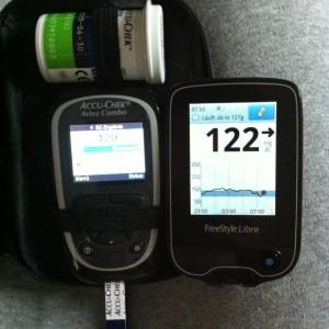 Vergleich Messgerät und FreeStyle Libre