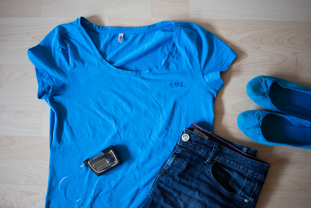 Foto-Freitag - Wear blue, it's Friday!